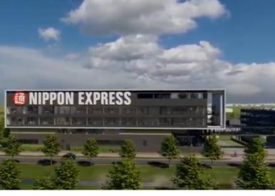 Schiphol Tradepark - Nippon Express Nieuwbouw
