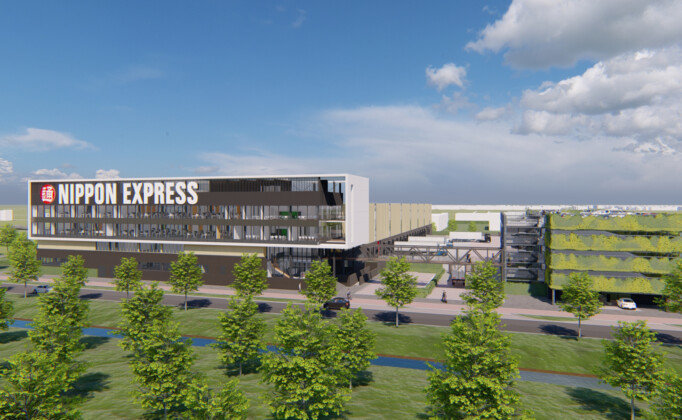 bedrijfspand nippon express