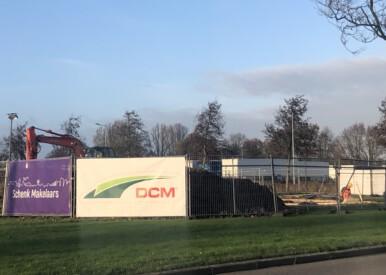 Eerste paal nieuwbouw DCM