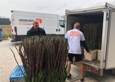 Sponsor actie Sponsor van Voedselbank en Van der Sar Foundation