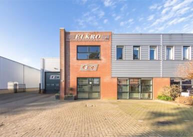 Te koop, bBedrijfs-/kantoorruimte aan de Luzernestraat 16 op het bedrijventerrein Spoorzicht te Nieuw-Vennep.